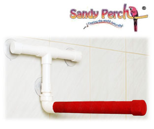 Sandy Perch™  ::  Coating the World Naturally  :: The finest conditioning perches for your bird, parrots, macaws, parakeets, etc. ::  Made with 100% FDA approved ingredients!
